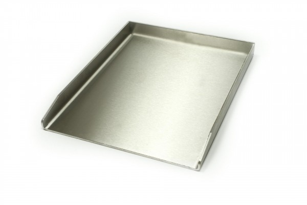 Plancha Grillpfanne Edelstahl Pfanne 4 4mm 30 x 40 50 60 37 V2A Grill Gemüse Griller Pfanne Grillplancha Einsatz universal Grillplatte